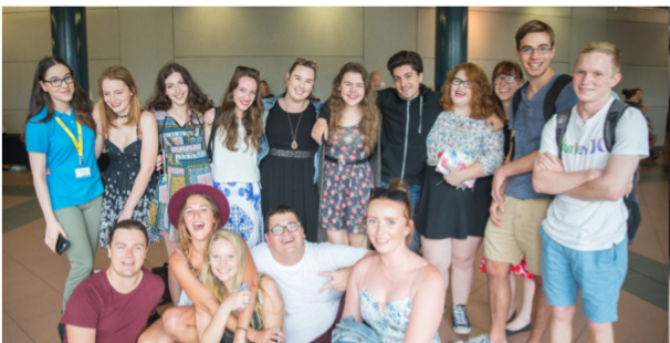 Year 12 UPP students pose for a group photo.